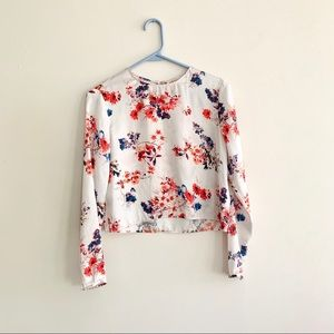 philosophy long sleeve floral